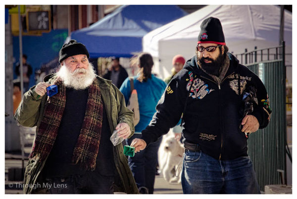 Evil Santa and Son?