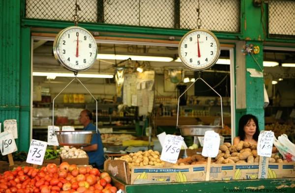 italian market produce stand  philadelphia