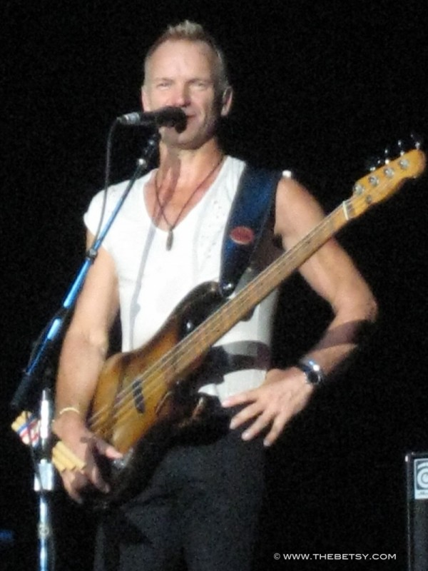 sting the police concert philadelphia www.thebetsy