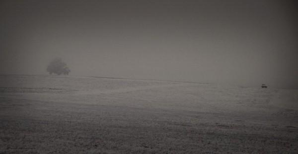 mcafee farm fog fall first snow glenmoore pennsylv