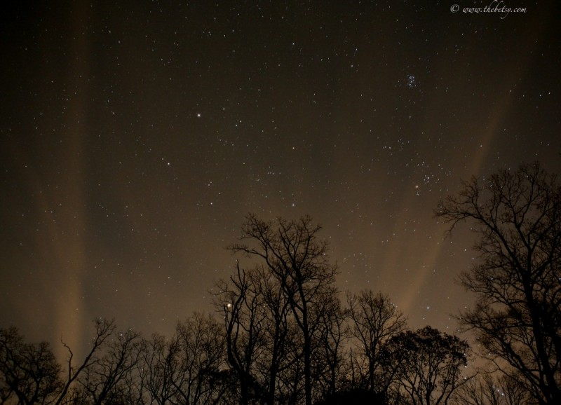 December Night Sky