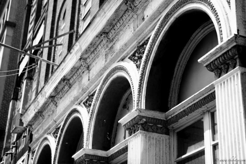 philadelphia black white arches