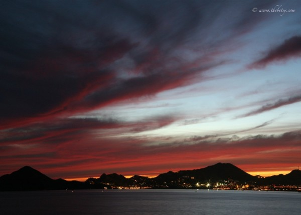 cabo san lucas mexico sunset