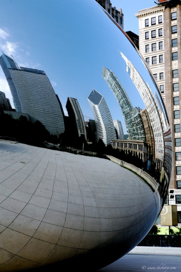 the bean chicago reflection cloud gate