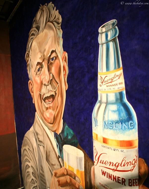 yuengling brewery mural winner beer