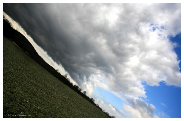 sideways storm front blowing in burchrunville