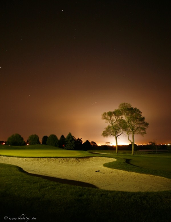 landscape linwood country club golf course night s