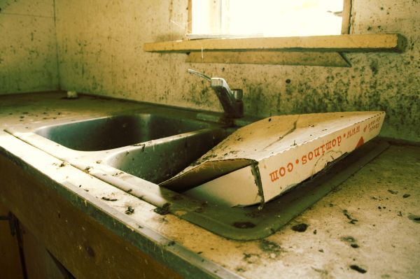 dominos pizza box kitchen maryland house