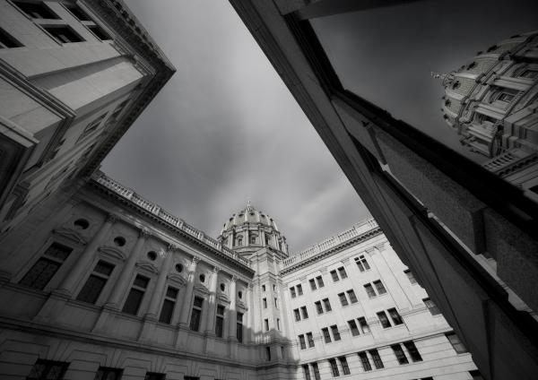 harrisburg capitol building reflection