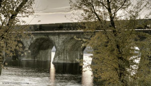 harrisburg, bridge, railroad, susquehanna, pennsy