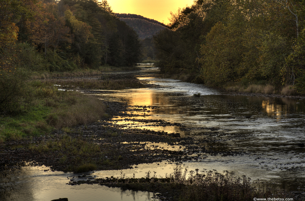 wellsboro sunset creek