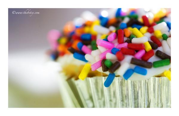 cupcake, birthday, sprinkles