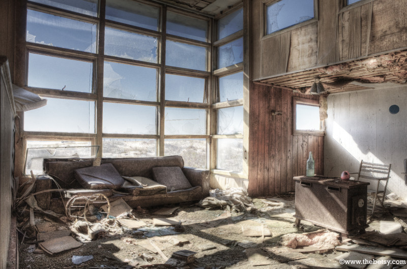 assateague, beach-house, disaster, hdr, abandoned