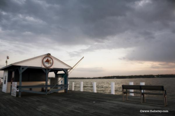 marina, maryland, easter-shore, bowleys, sunset, w
