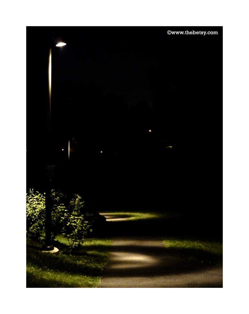 street, lights, night, philadelphia