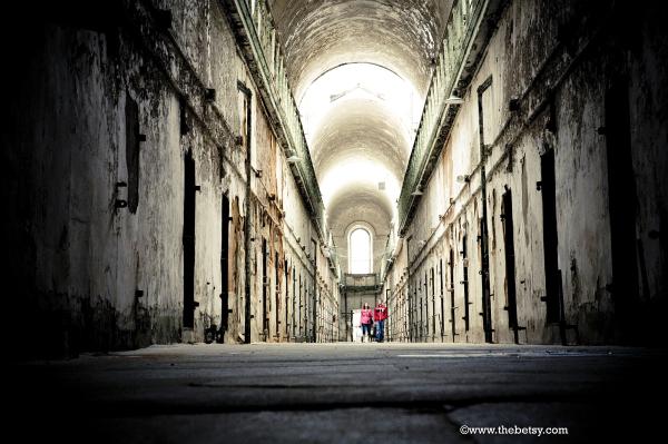 eastern-state-penitentiary, hallway