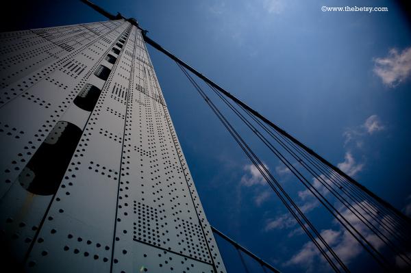 ben-franklin-bridge, sky