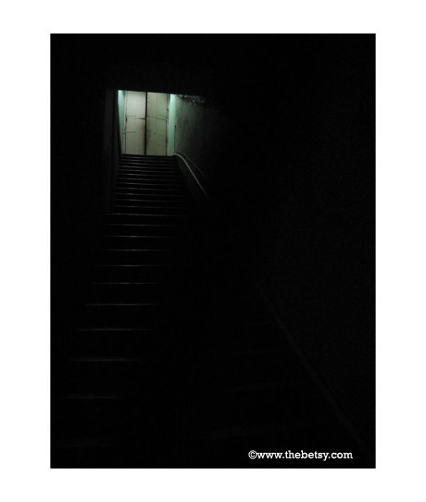 street, hallway, empty