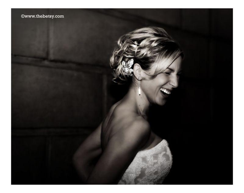 bride, wedding, smile, laughter