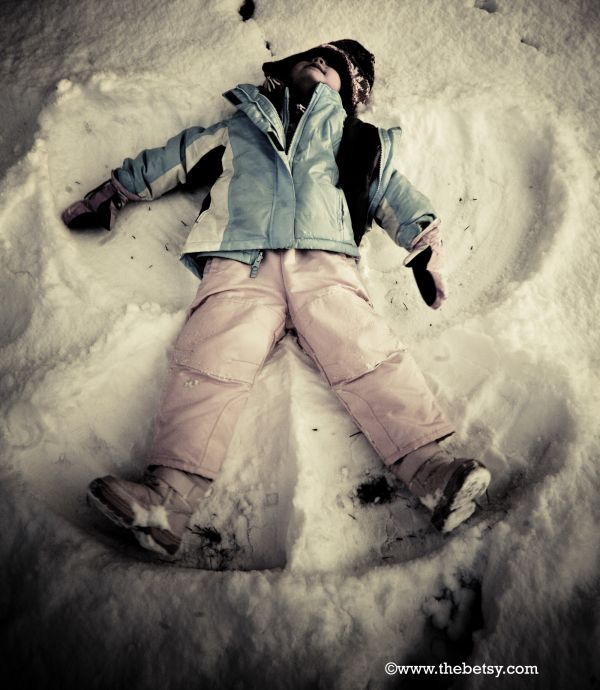 snow, angel, winter, portrait, girl, reese