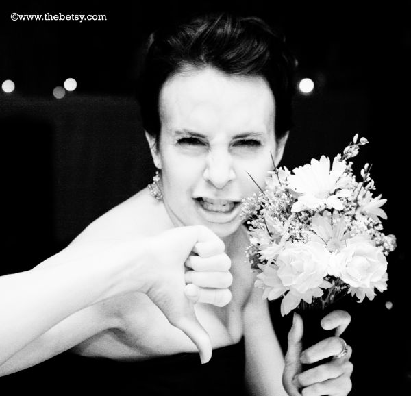bouquet, wedding, guest, woman, flower
