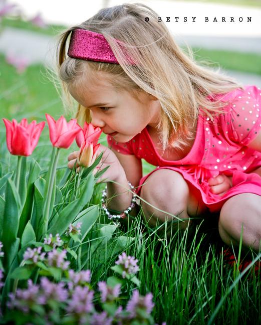 reese, flowers, gathering, spring, birthday, pink