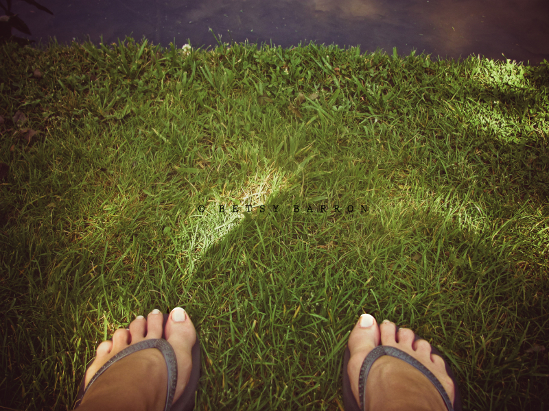 me, self-portrait, feet, summer, grass, light