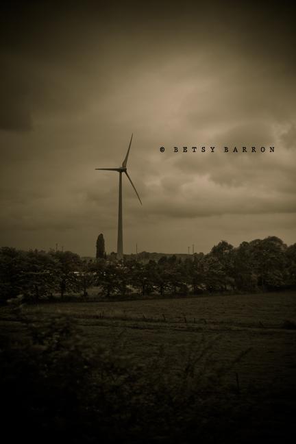 windmill, modern, belgium