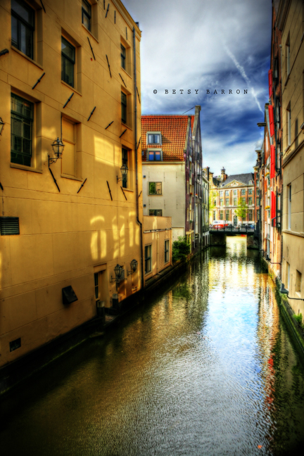 bruges, canal, city, belgium, hdr