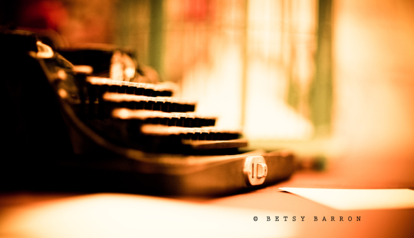 typewriter, wedding