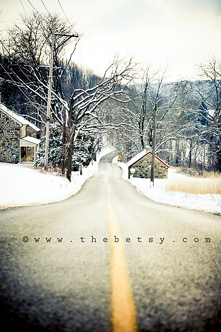 landscape, road, snow, ashefleter, malvern, trees,