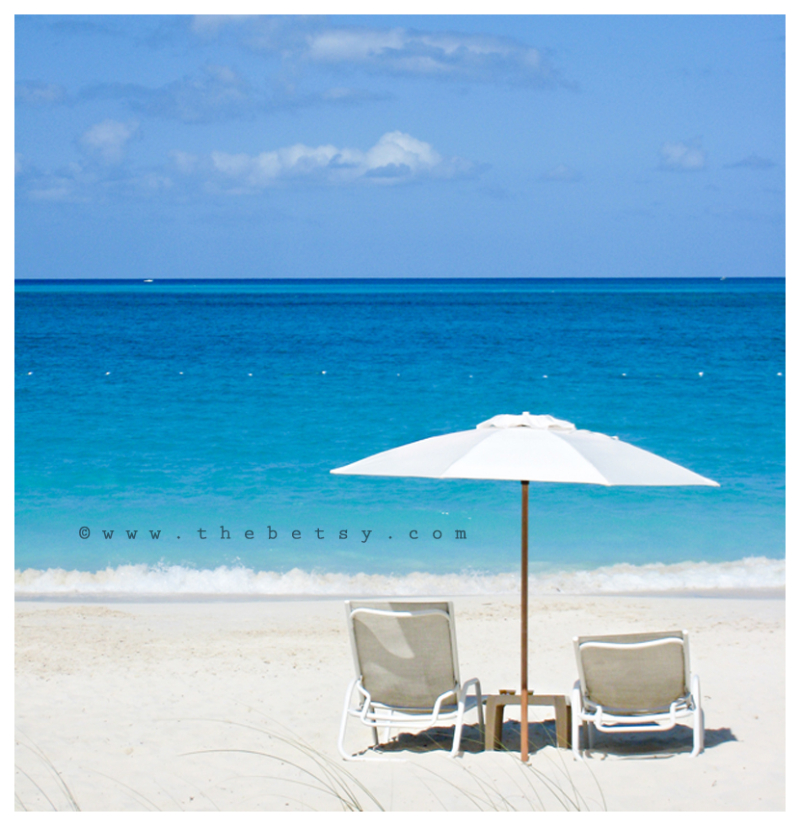 beach, umbrella, ocean, water, sand, turks, sun