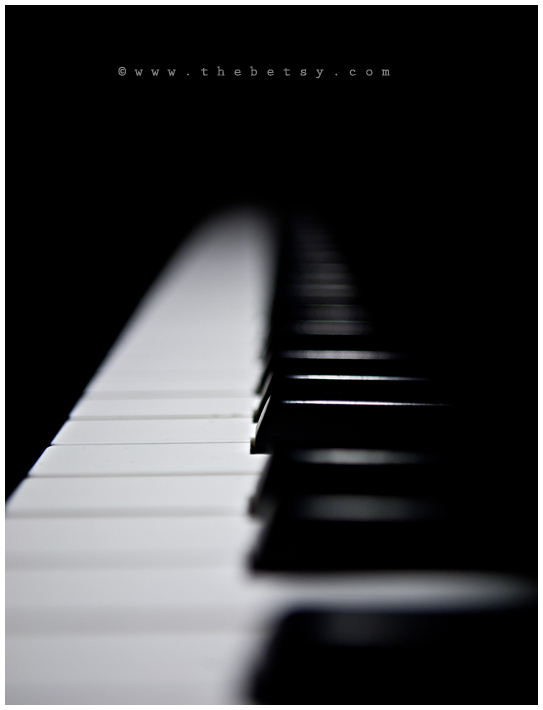 piano, keys, black, white. musician, music, dof