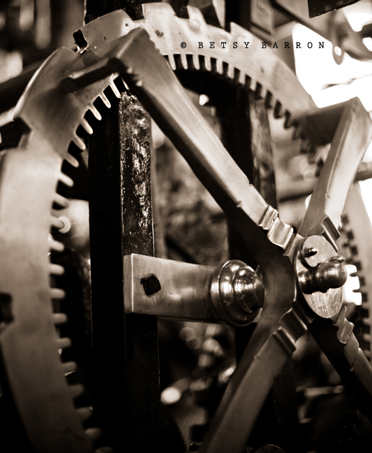 clock, machine, movement, parts, clockworks