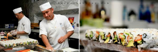 sushi, chefs, diptych, restaurant