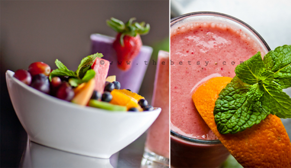 food, fruit, smoothie, protein, diner, colorful
