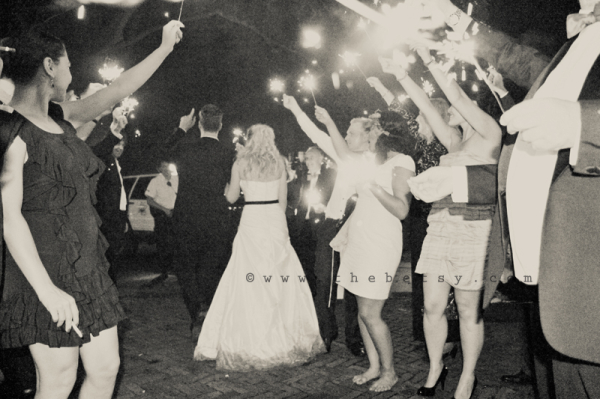 wedding, couple, honeymoon, sparklers, fun, party