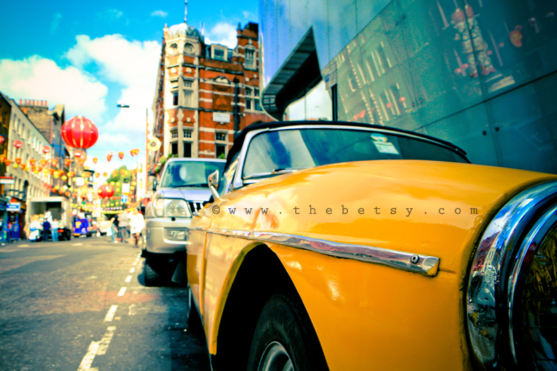 london, yellow, car, china, town, w, hotel, street