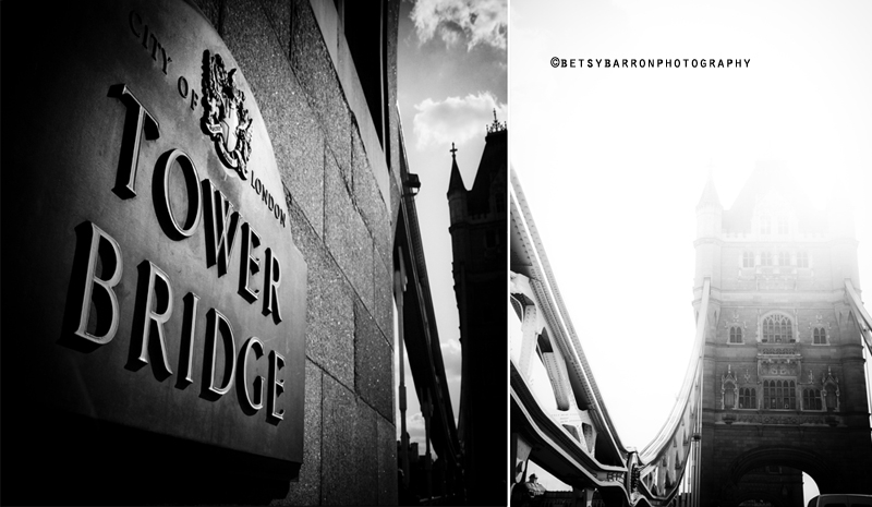 tower, bridge, london, diptych, high key, barron