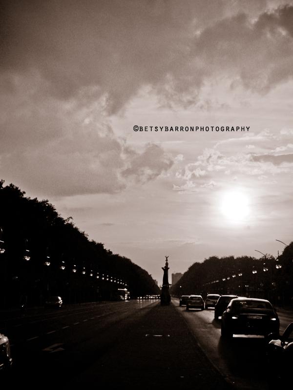 unter, linden, berlin, street, cars, evening, suns