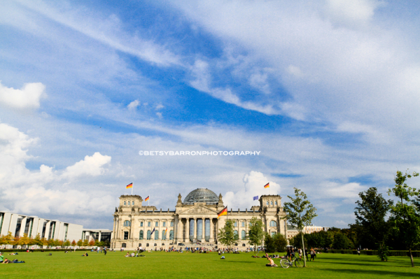 bundestag, government, building, sky, germany