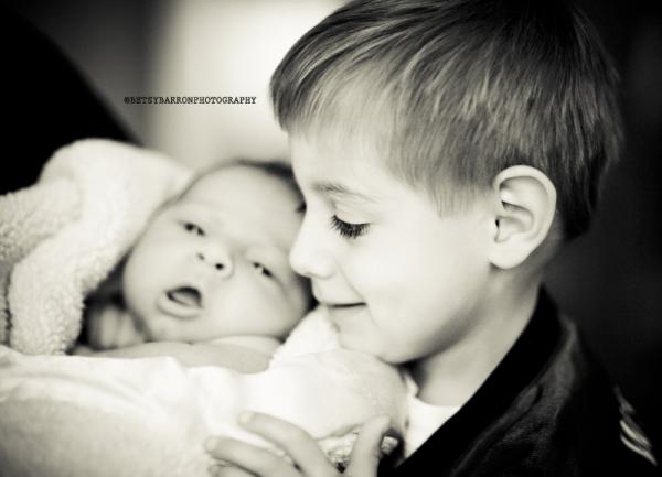 brothers, baby, newborn, portrait