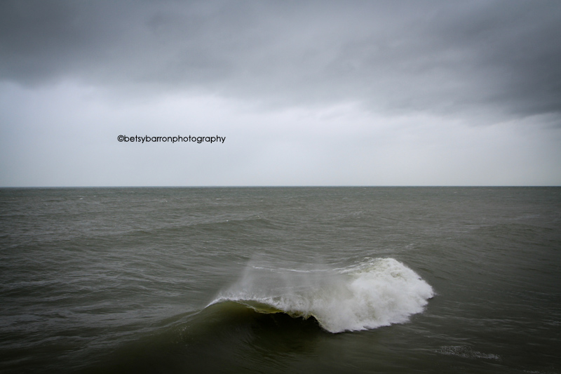 wave, ocean, sea, sky