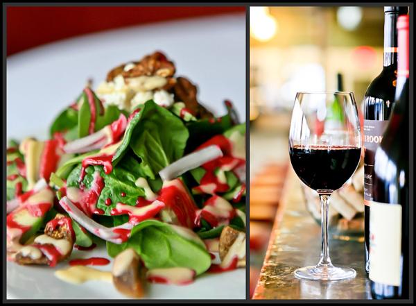 food, restaurant, wine, gables, cuisine, salad,bar