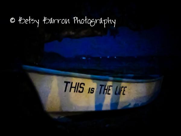 boat, beach, night