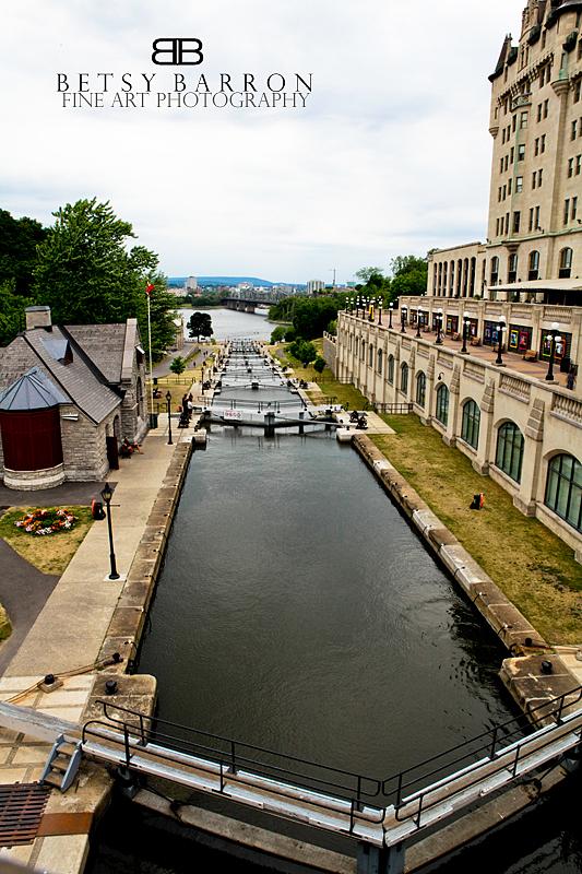 rideau, ottawa, canal, lock, eight, landscape