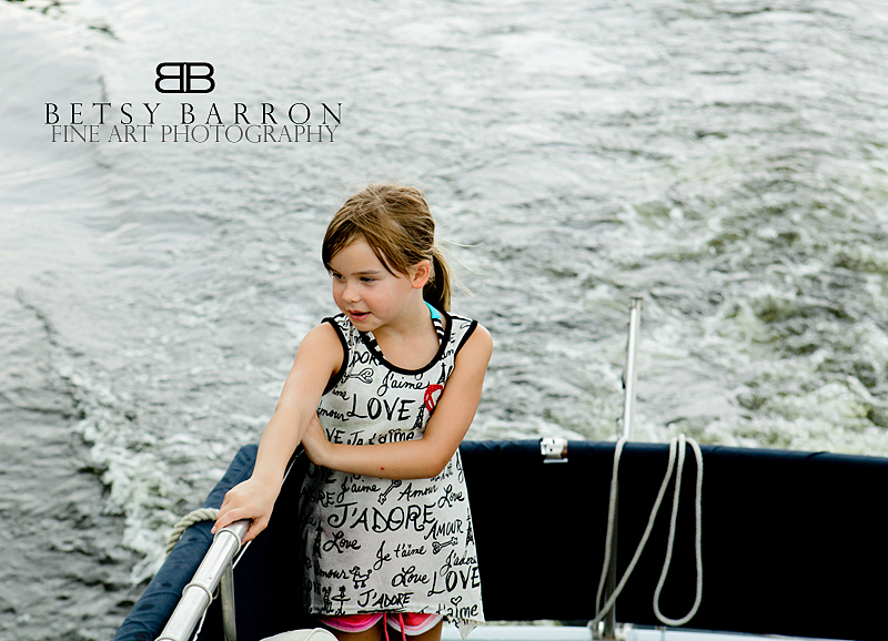 daughter, girl, vacation, boat