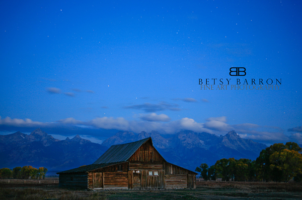 wyoming, barn, sunrise, morning, blue, night,