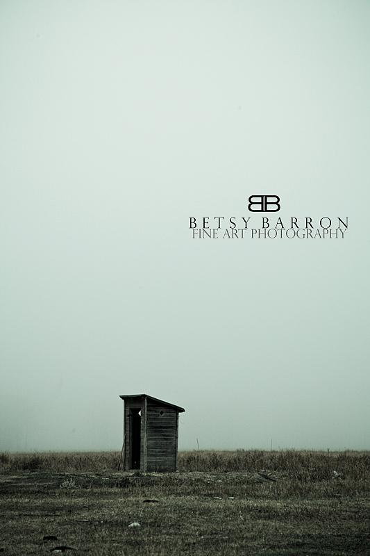 wyoming, tetons, outhouse, field, fog, farm