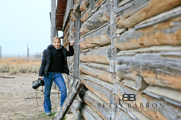 wyoming, portraits, self, barn, log, cabin, camera
